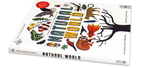 Natural World A Visual Compendium of Wonders from Nature - Jacket unfolds into a huge wall poster!