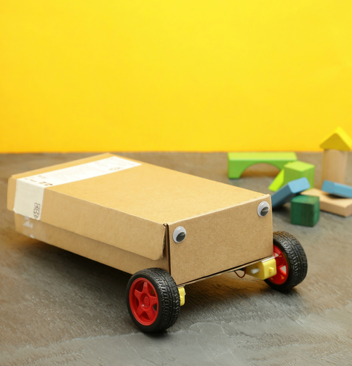 Raspberry Pi Box Bot Finished
