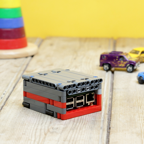 Raspberry Pi Lego Technic Case