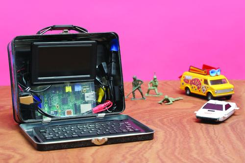 Raspberry Pi Lunchbox Laptop