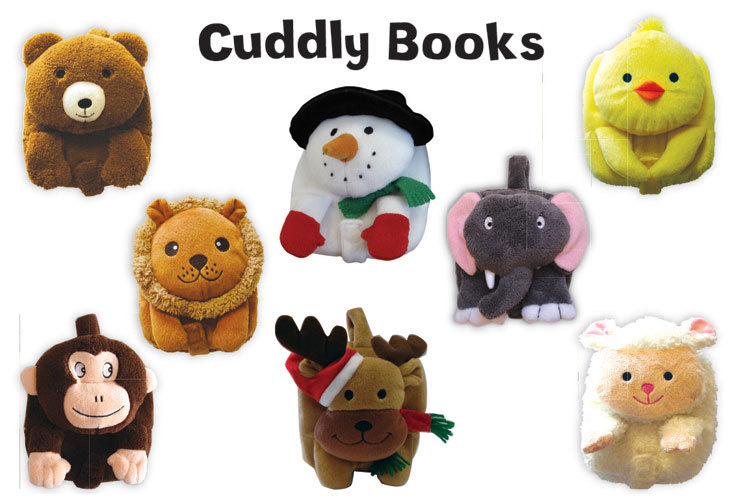 Cuddly books from small world creations
